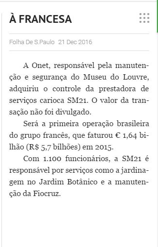 Versão imprensa da Folha de SP