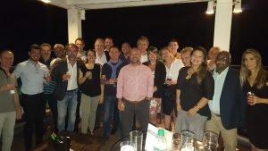 Equipe ONET / SM21 confraternizando