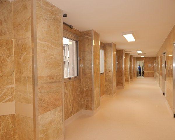 centro cirúrgico reformado pela Onet SM21